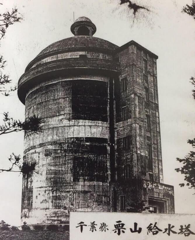 給水塔の画像