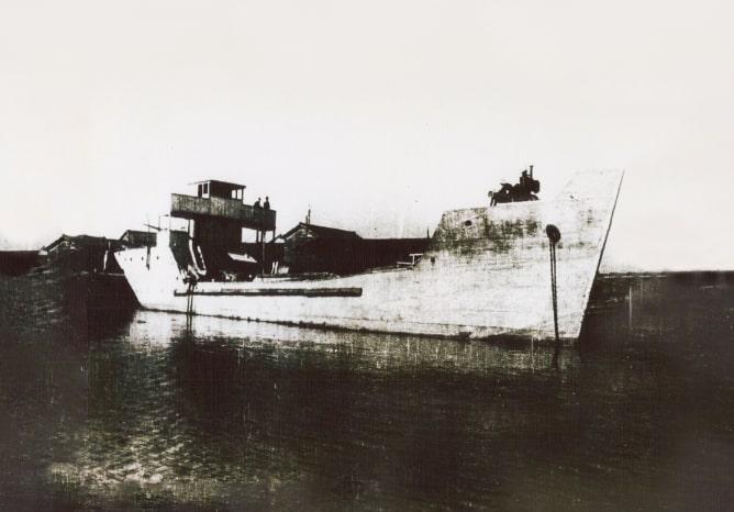 コンクリート船の画像