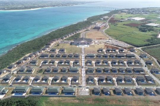 来間島リゾートプロジェクト 他、数々の著名な施設の施工を行う